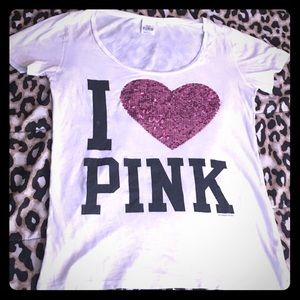 VS PINK Bling shirt